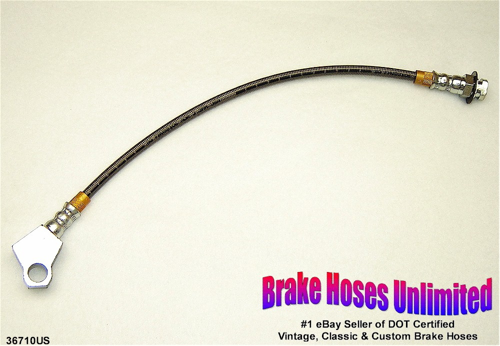 stainless rear brake hose ford granada 1975 1976 1977 ebay. Black Bedroom Furniture Sets. Home Design Ideas